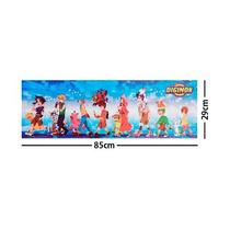 Digimon Equipo Poster Largo Plastificado