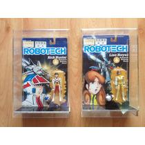 Set 2 Figuras Vintage 1985 Robotech Rick Hunter Y Lisa Hayes