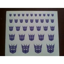Logo Decepticon Fondo Blanco Transformers Reprolables Hm4