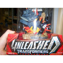 Arg Transformers Increible Escenario Enorme Original Nue Mdn