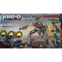 Megatron Transformers Kre-o ( Hasbro )( Nuevo) $ 550.00 Mn