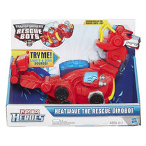 Transformers Rescue Bots, Dinobots, Heatwave Electronico ´14