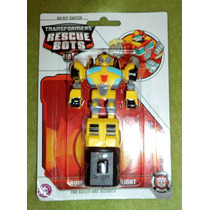 Transformers Rescue Bots, Bumblebee, Lampara De Noche, Led