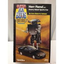 Super Gobots Herr Fiend Enemy Robot Sports Car Nuevo Caja