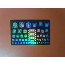 Logos Autobots Decepticons Reprolable Transformers Holograma