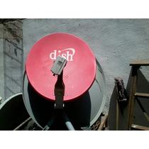 Antena Fta Parabolica Satelital Con Lnb Integrado Hd