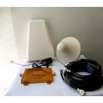 Antena Amplificador Señal Celular 3g Gsm 65db Dualb Maa
