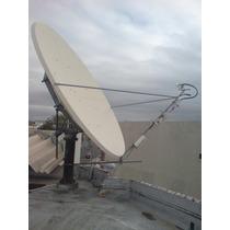 Antena Prodelin 3.8 Mts De Diametro Ku/c Band Tipo Offset