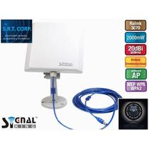 Antena Wifi Antena Internet 6000mw 58dbi Signalking 10tn Srt