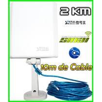 Antena Auditar Exterior Signal King 10tn 60dbi 6000mw Beini