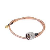Cable Rf De 60 Cm Tipo Rg-142/u, Conectores N Macho Y Sma Ma