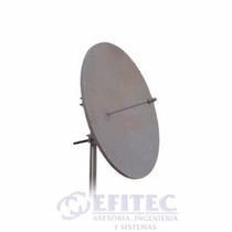 Antena Parabólica De Disco 4.9 A 5.8 Ghz De 29 Dbi Efitec