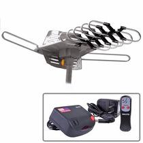 Gratis Envio Antena Aerea Giratoria Exterior Hdtv Hd Control