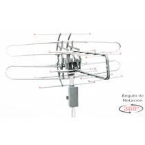Antena Exterior Radox 14 Elementos Giratoria 360 Uhf Hd Tv