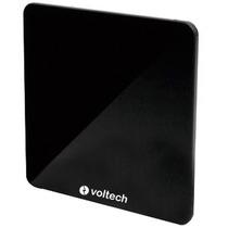 Antena Hdtv Plana Amplificada 9 Pulgadas Hd Voltech 48163