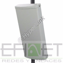 Antena Sectorial 5.8 Ghz De 17 Dbi Y 90° De Apertura Efinet