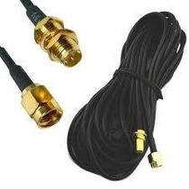 Extensión Cable 9 Metros Antena Conector Rp-sma Wifi Router