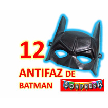 12 Batman Mascara Antifaz Super Heroes Fiesta