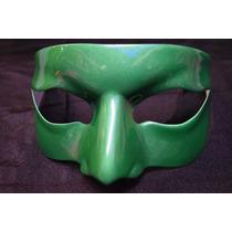 Antifaz De Kato Verde Para Caballero