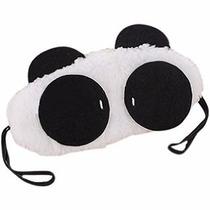Antifaz Para Dormir Panda Sueño Siesta Y Relajacion Orejas