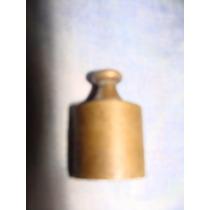 Antigua Pesa De Bronce De 100 Gramos