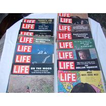 Revistas Life Magazine Vintage 16 Números 1969-1970