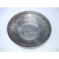 Charola Ensaladera Frutera National Silver De Metal Vintage