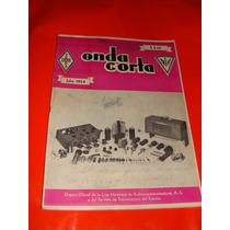 Revista Onda Corta, Antigua De Los 50s, De Electronica Radio