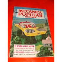 Antigua Revista Mecanica Popular Septiembre 1957