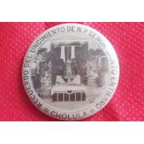 Antiguo Botón Señor Del Santo Entierro Cholula Puebla 40´s