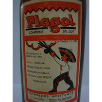Botella Antigua De Plagol Petroleos Mexicanos