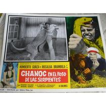 Chanoc En El Foso De Las Serpientes, Loby Card