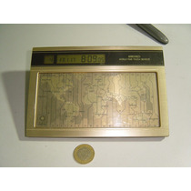 Reloj Vintage Seiko World Time Touch Sensor Funcionando