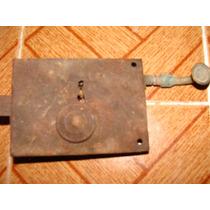 Chapa Muy Antigua Para Puerta, 12.5 Cm X 9cm