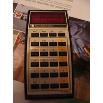Calculadora Texas Instruments Ti- 1250 Muy Viejita, Parece Q