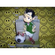 Cantinflas Alcancia Mundial Mexico 86 Antigua De Coleccion