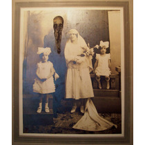 Collage Alteración Sobre Foto Antigua Serie Lovecraft
