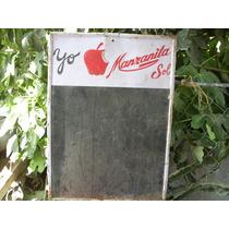 Antigua Lamina De Refresco Manzanita Sol De 1947 No Subasta