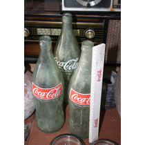 Botella Coca Cala Familiar De Vidrio