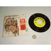 Antiguo Cuento Y Disco De Vinil Gingle Bells De P Pan Record