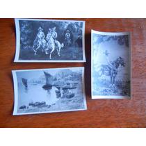 3.-antiguas Tarjetas Postales De Mexicanos
