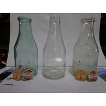 Botellas De Leche Antiguas