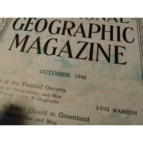 Antigua Revista National Geographic De 1946 Muy Buen Estado