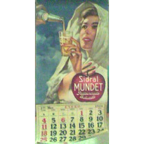 Calendario Sidral Mundet Año 1959
