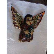 Angel O Querubin Tallado En Madera Muy Bonita , Como Aparece