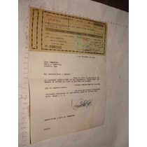 Antiguedad Pagare Y Documento Año 1952