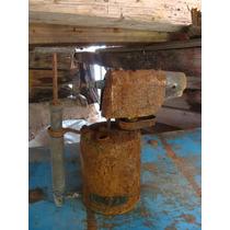Excelente Antiguo Soplete De Plomeria Oxidado, 25 Cm De Alto