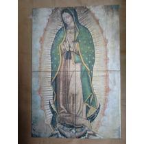 Virgen De Guadalupe En Azulejos Hermosos!
