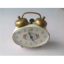 Antiguo Reloj Despertador Polvani Génova Italiano.cuerda40