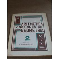 Libro Aritmetica Y Nociones De Geometria 2